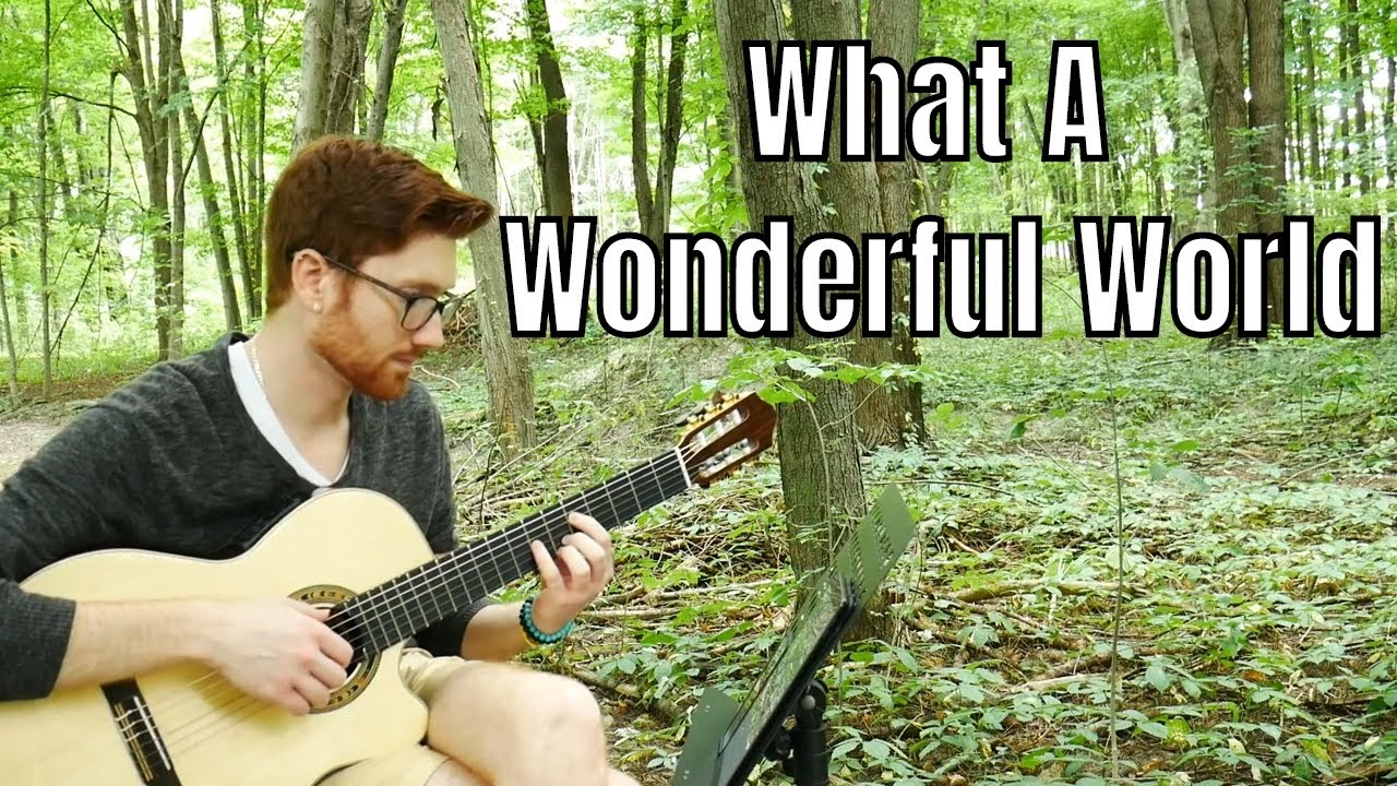 What A Wonderful World | Solo Guitar Cover