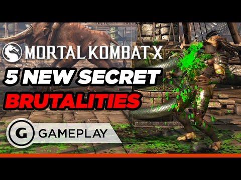 5 New Secret Brutalities in Mortal Kombat XL