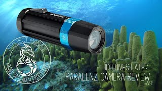 BEST UNDERWATER CAMERA - @PARALENZ dive camera review 100 dives