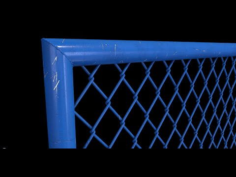 Alambrado (Fence grid) - Cinema4D Tutorial