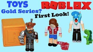 Roblox Toys, Gold Celebrity Series, Blind Boxes, First Look, Sneak Peek, News