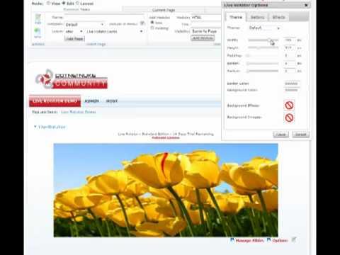 Live Rotator - Getting Started | DotNetNuke Module | Mandeeps.com