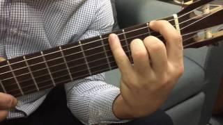 Cách vươn ngón tay khi chơi đàn Guitar - Văn Anh Guitar Class