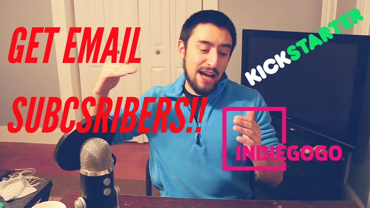How to EASILY Make a Landing Page To Get Email Subscribers