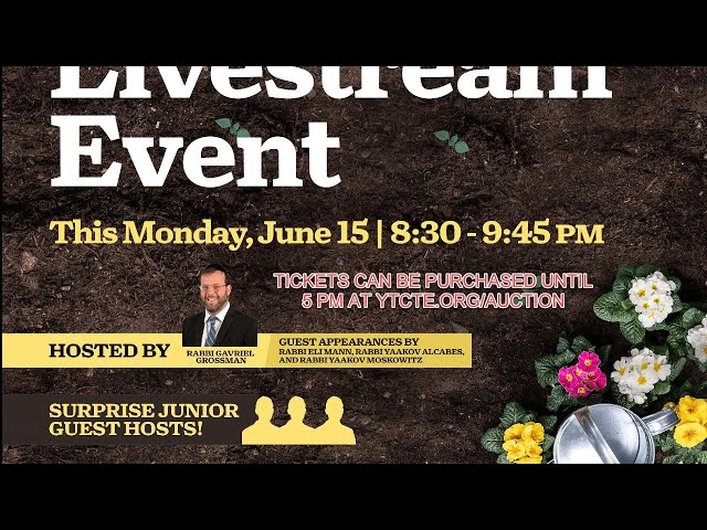 Auction Drawing Livestream Event