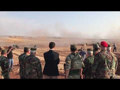 Syria, Bashar Al Assad Visits Idlib War Torn Front Line