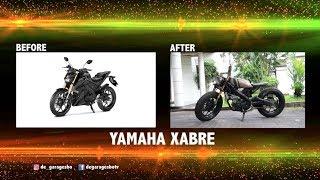 De Garage   Custom Yamaha Xabre Jadi Cafe Racer