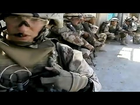 Iraq War - Soldiers Search For Insurgents In Ramadi