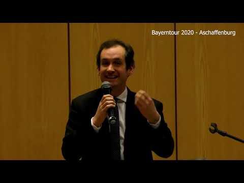 Bayerntour 2020 - Aschaffenburg - Norbert Kleinwächter AfD