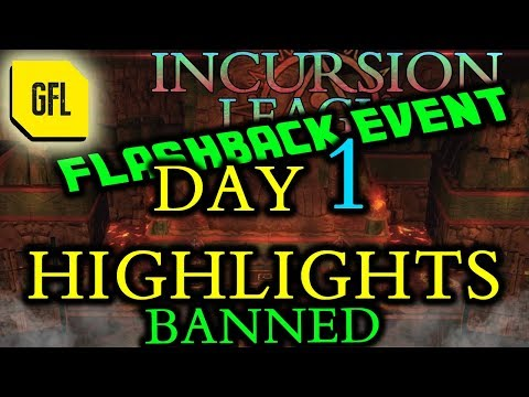 Path of Exile 3.3: Incursion Flashback League DAY # 1 Highlights