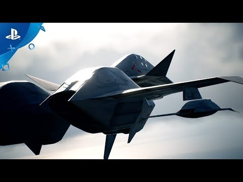 Ace Combat 7: Skies Unknown - ADF-11F Raven Aircraft Trailer