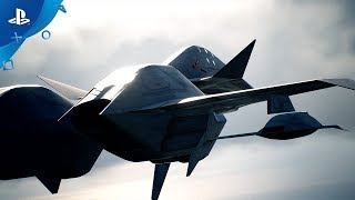 Ace Combat 7: Skies Unknown - ADF-11F Raven Aircraft Trailer | PS4