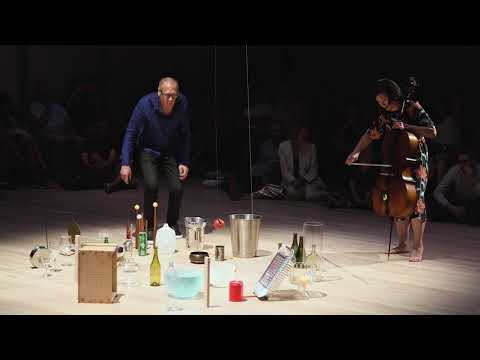 Christian Marclay and Okkyung Lee Perform Calder's Small Sphere and Heavy Sphere