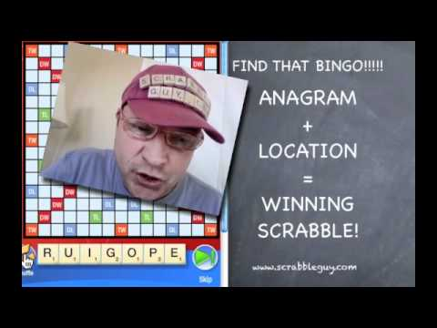 Anagrams   featuring Scrabble Guy