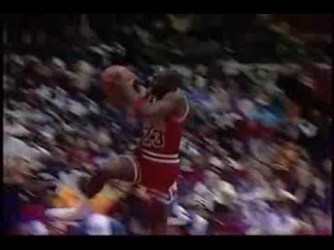 Michael Jordan Salto Historico
