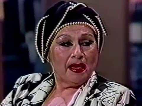 Yma Sumac--Jane Velez-Mitchell, 1987 Ballroom TV Interview
