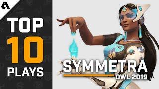 TOP 10 Best Symmetra Plays | Overwatch League Season 2
