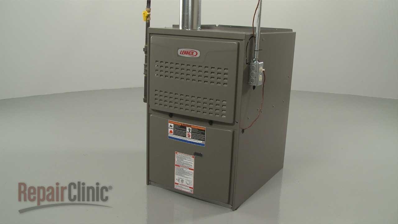 Lennox Gas Furnace Disassembly (#ML180UH110P48C53)/Repair