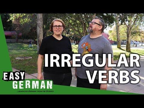 Tiếng Đức bài 4b: động từ bất quy tắc