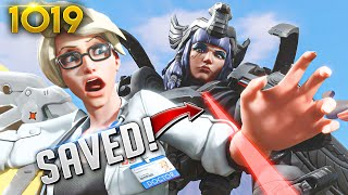 *200 IQ* PROTECT THE PRESIDENT PLAY!!    Overwatch Daily Moments Ep.1019 (Funny and Random Moments)