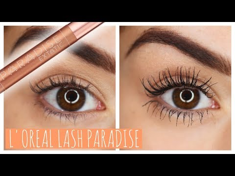 WORTH THE HYPE?! LOREAL LASH PARADISE MASCARA | Beautys Big Sister
