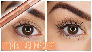 One of Beauty's Big Sister's most viewed videos: WORTH THE HYPE?! L'OREAL LASH PARADISE MASCARA | Beauty's Big Sister