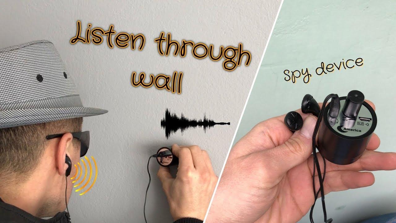 Listen Through Walls Spy Device