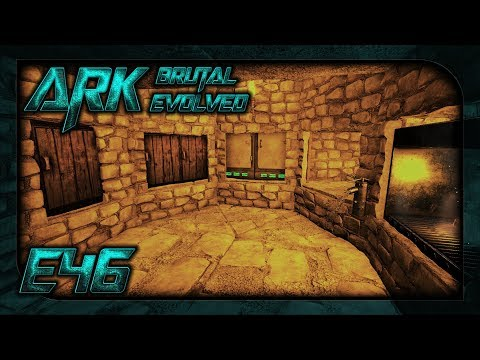 Ark: Brutal Evolved || E46 - Stone Base - Fitting Out the Kitchen || TimmyCarbine
