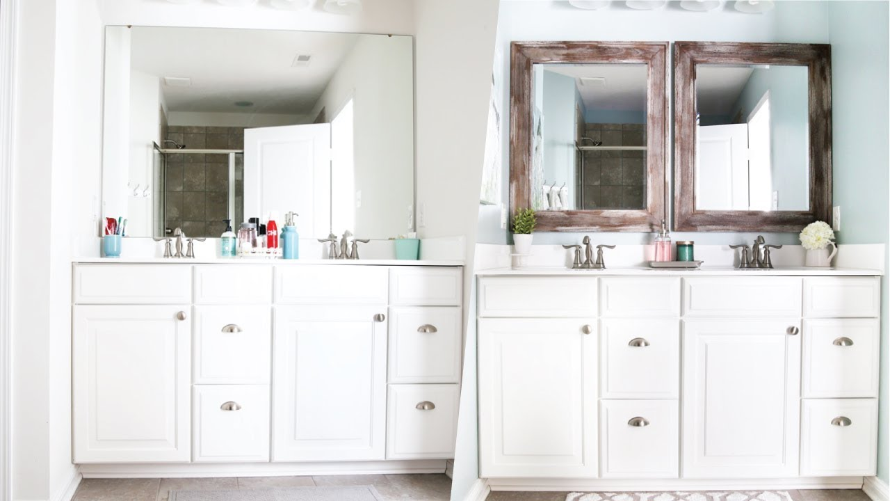 Master Bathroom Organization And Updates Youtube