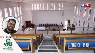 Reflexão: Lucas 5.27-32 - IPT