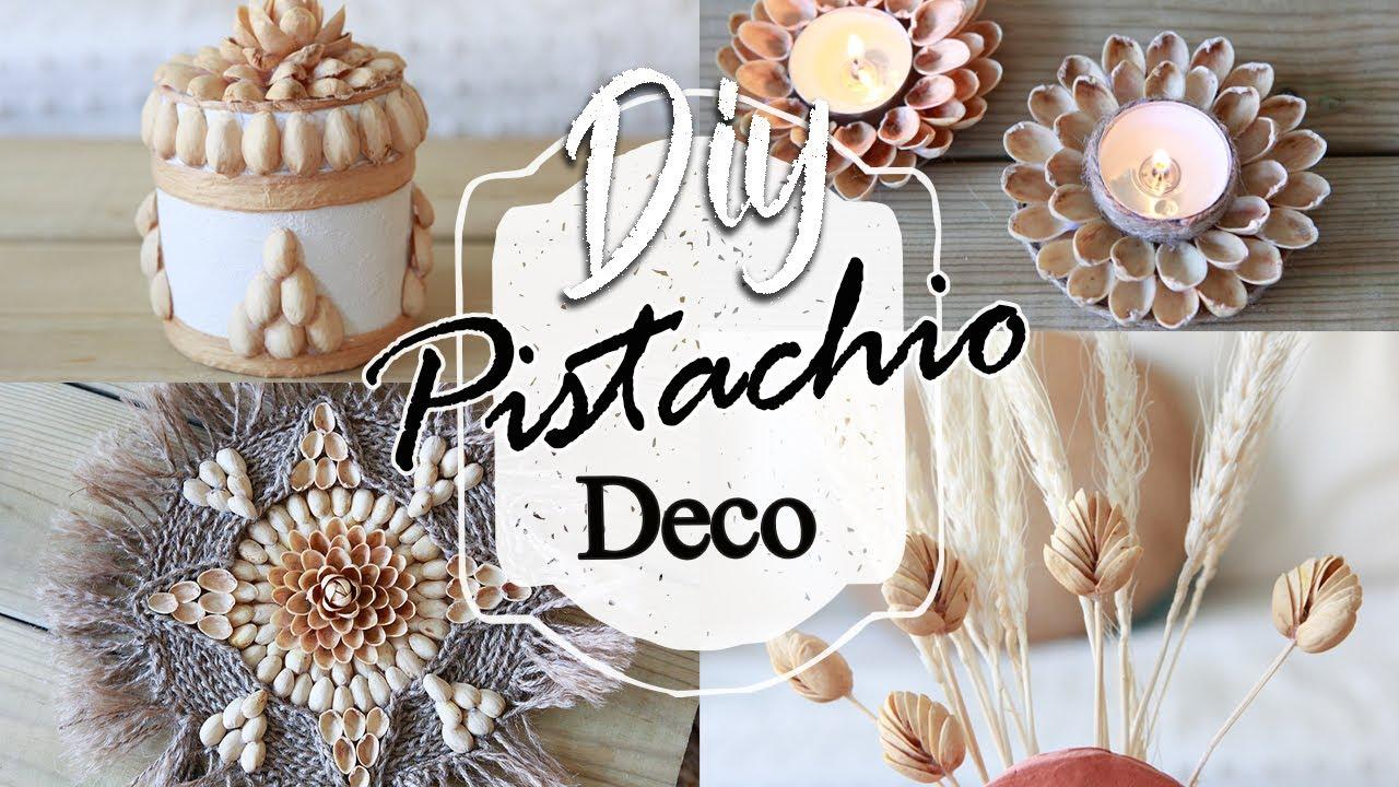 DIY DECORACIÓN con PISTACHOS 🥜| PISTACHIO SHELL ART | Shanti Irene