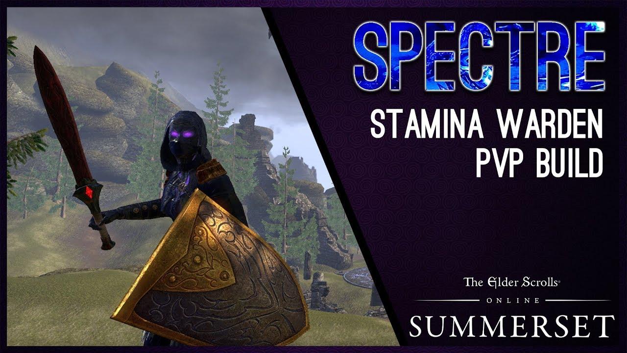 Stamina Warden Build PvP