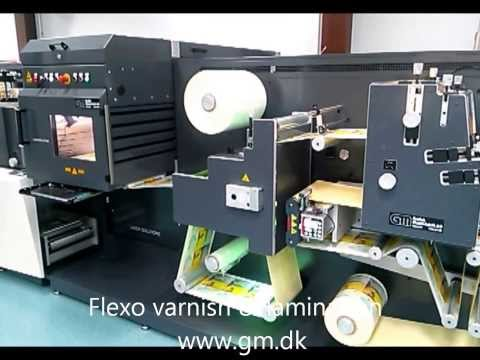 Laser die cutter for self-adhesive labels