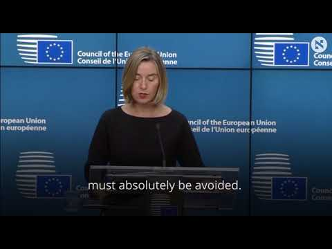 EU warns Trump against recognizing Jerusalem as Israeli capital