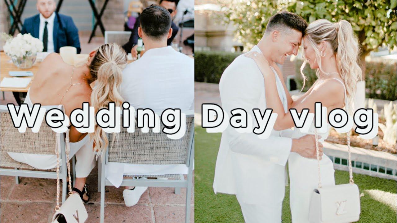 Download Wedding Day Vlog! Getting Ready!