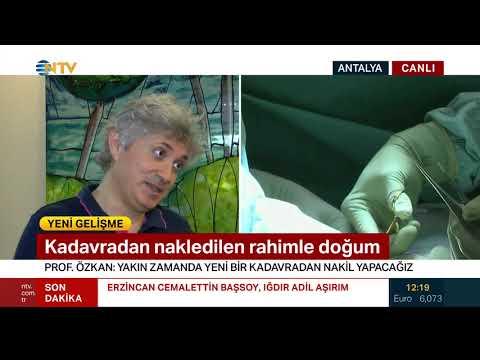 Kadavradan Ilk Rahim Naklini Yapan Prof. Ömer Özkan NTV'ye Konuştu