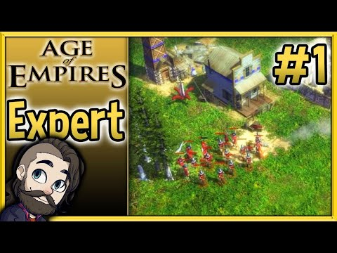Britain vs Netherlands Expert Difficulty - Age of Empires 3 Gameplay #1