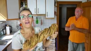 Pestobrot vegan, vegetarisch, ohne Öl, gesund