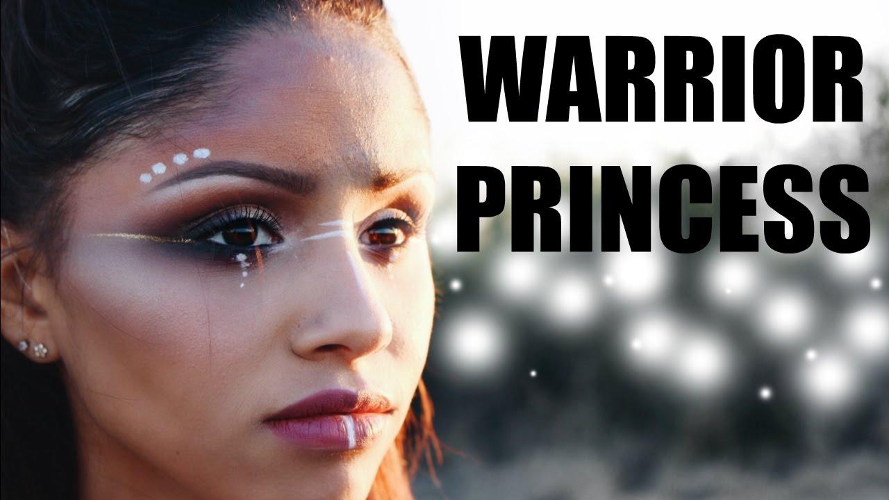 Warrior Princess Makeup WARRIOR PRINCESS | Tri...