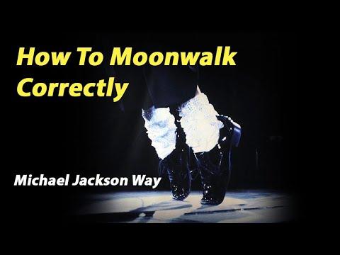 How to Moonwalk Correctly - Michael Jackson Dance