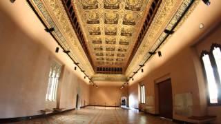 Panorámicas del Interior de la Aljafería en Zaragoza