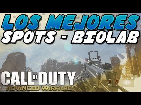 Call Of Duty Advance Warfare : LOS MEJORES ESCONDITES DE BIOLAB TRUCOS COD AW