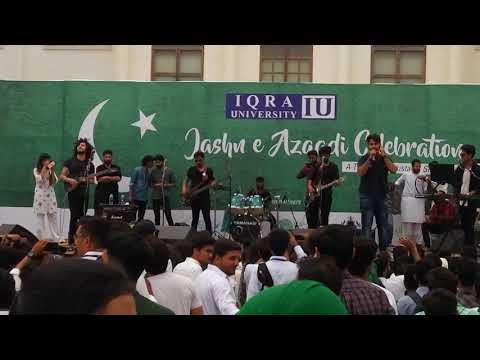 Kashmir the band - Mera Pyar Live at IU (14th August 2018)
