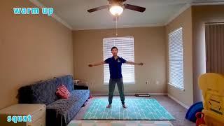10 mins Wushu Workout at Home