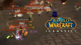 High Warlord VS Burning Steppes | WoW Classic PvP