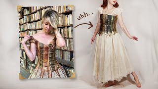 "Trying to Recreate That ""Book Dress"""