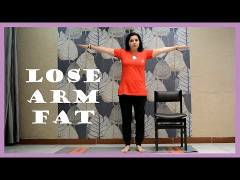 Simple Ways/Exercises To Lose Upper Arm Fat  (in Hindi) | Darshana Pandya