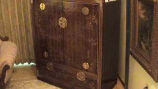 Mysterious Chinese  Antique Cabinet.