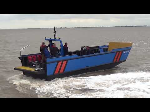 HDPE Workboat Optimus Landing Craft