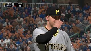 MLB 18 Pittsburgh Pirates vs Detroit Tigers | March 31st, 2018 (MLB The Show 18 Gameplay)